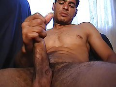 Indian guy jerking his tool
