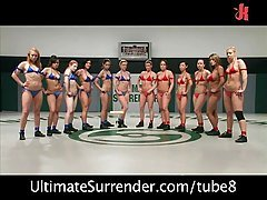 Royal Madness 12 girls wrestle t...