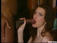Interracial tender foreplay and ...