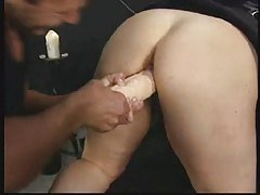 German BBW - Fist - Squirt - Ass...