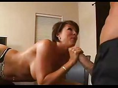 Ball hooters milf fucked in office