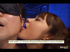 Mihiro innocent Chinese gal in l...