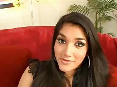 Indian Leah Jaye takes a big bla...