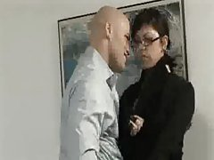 Petite asian fucked by her boss ...