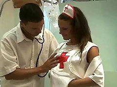 Hot European Nurse Fuck