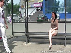 Casual Teen Sex - From bus stop ...