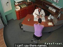 Security cam catches the doctor ...