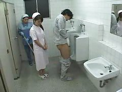 Asian Nurse and Cleaning Lady Pa...