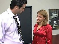 Office Slut Lydia Lee Fucks Her ...