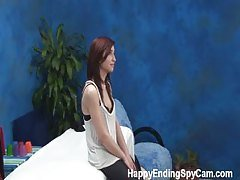 Hot Young Teen Fucks Client on M...