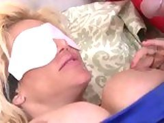 Blindfolded whore  Krissy Lynn r...