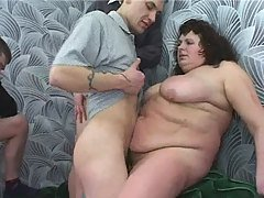 fat mom in group sex