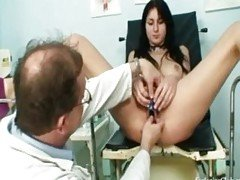 Gyno Clinic Pussy Speculum Exam ...