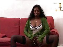 Indian Sexy Hot Brunette Has Ana...