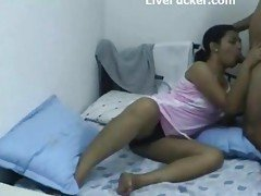 Hot Indian Wife Cheats Live On W...
