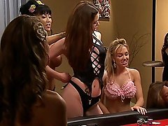 Carmen Electra Strip Poker
