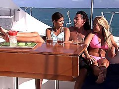 Lucie and Jessica boat fuck