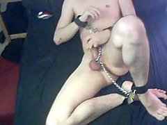 Bi Slaveboy doing self...