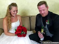 Bride in hardcore fucknig video
