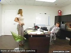 Fucking in office