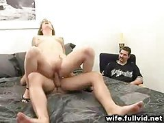 Watching His Wife Fuck