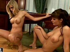 Lora Craft and her friend gets p...