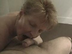 mature slut sucking cock