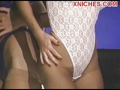 Two horny girls seducing Arabian...