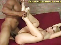Blonde Interracial Goo