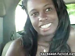 Black Beauty In Backseat