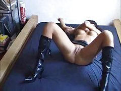 Escort In High Heels Homemade