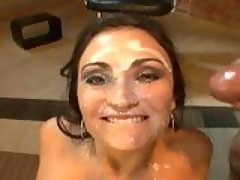 Horny whore Claudia Valentine ge...
