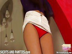 Tight Euro teen Vilena lifting u...