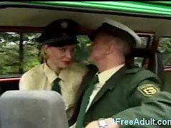 Horny German police fuck in thei...