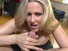 Julia Ann gives a great head job...