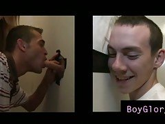 Cute boy tricked into gay suck i...