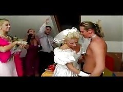 Wedding Party Turns into Orgy