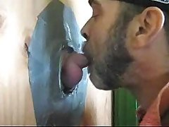 GLORYHOLE SUCK AND SWALLOW