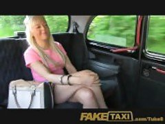FakeTaxi Young blonde takes cash...