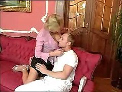 Horny Mature Woman and  young Gu...