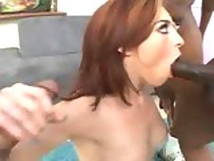Cock lover Riley Shy alternately...