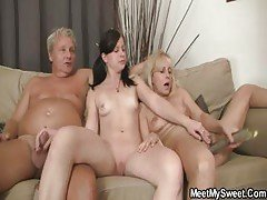 Gf Have Fun With Her Bf's M...