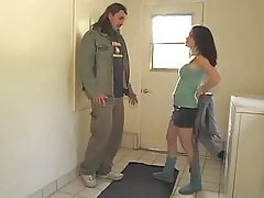 Horny Milf receives her First An...
