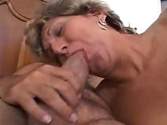 shy old mature s doing her first...