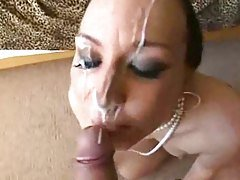 Nice Cumshots On Pretty Faces!