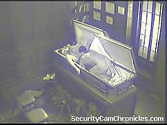 Caught On Security Cam
