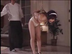 Asian Spanked In Panties