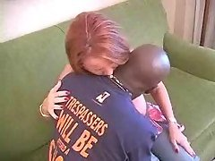 Redhead interracial kissing comp...