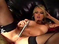 Lovely hot Kayden Kross glides h...