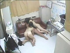 Hairy Asian Milfs Threesome Crea...